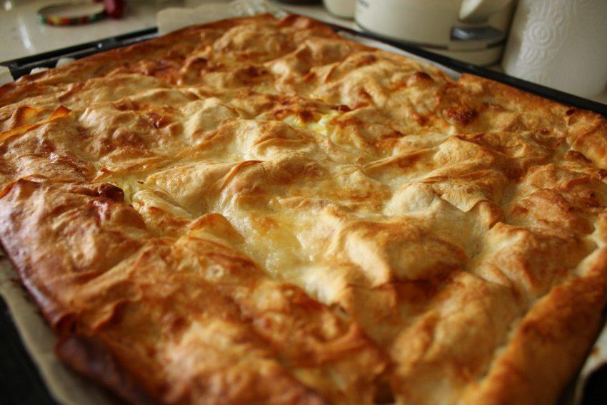 Ispanaklı Sodalı Börek