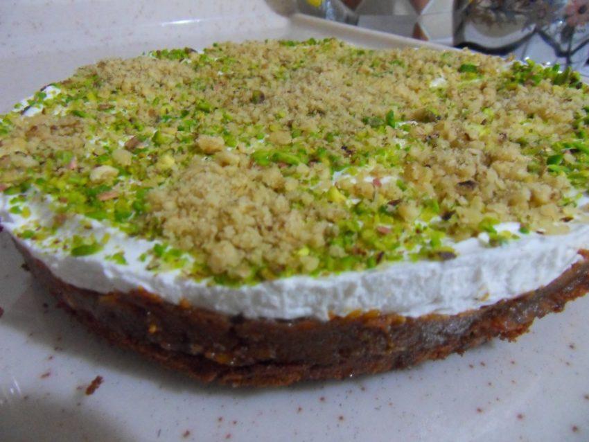 Balkabaklı cevizli pasta Tarifi