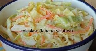 Coleslaw (Lahana Salatası) Tarifi