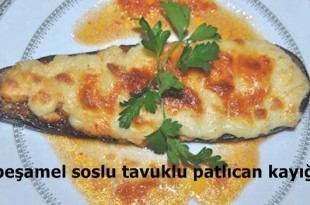 besamel-soslu-tavuklu-patlican-kayigi-tarifi
