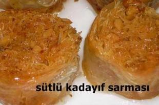 sutlu-kadayif-sarmasi-tarifi