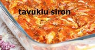 Tavuklu Siron Tarifi