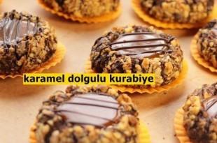 karamel-dolgulu-kurabiye-tarifi