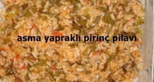 Asma Yapraklı Pirinç Pilavı Tarifi
