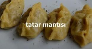 Tatar Mantısı Tarifi
