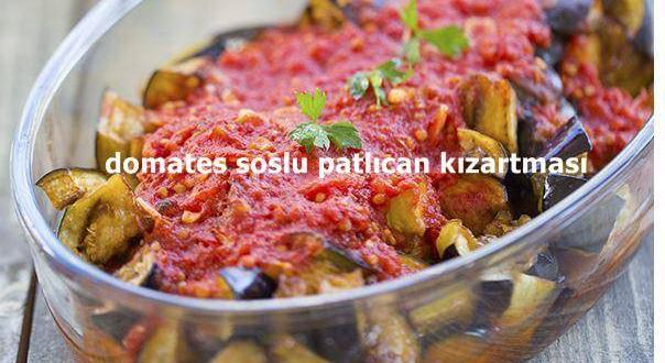 Domates Soslu Patlıcan Kızartma Tarifi Iyi Yemek Tarifleri